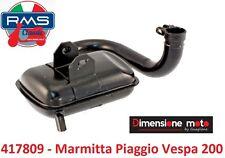 """417809 - Marmitta """"RMS"""" Tipo Originale per Piaggio Vespa P 200 E dal 1977"""