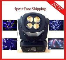 4pcs 4*30W Supper Led Beam Moving Head Stage Light DJ lighting Free Shipping