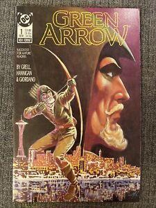 GREEN ARROW #1 (DC Comics, 1987) Mike Grell NM