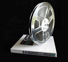 "Reel To Reel Tape Capture Audio Tape 1/4"" x 1800' on 7"" Reel Excellent Buy!"
