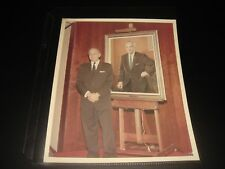 VERY UNCOMMON VTG NASA KURT DEBUS OFFICIALPORTRAIT UNVEILING PIC-A KODAK PAPER