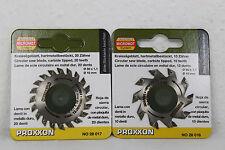 Proxxon Set Kreissägeblatt HM 50x1,1x10 mm 10 Z 28016 KS230+28017