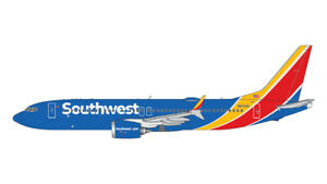 GEMINI JETS SOUTHWEST AIRLINES BOEING 737 MAX-8 1:400 GJSWA2017 PRE-ORDER