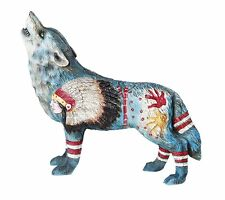The Wolf Spirit Collection Homage to the Chief Wolf Spirit Collectible Figurine