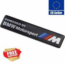 3D Motorsport Aluminum Body Side Emblem Sticker Decal Badge For BMW M3 M4 M5