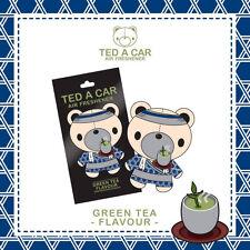 TED A CAR Green Tea Scented Car & Home Air Freshener TEDACAR Teddy Little Tree