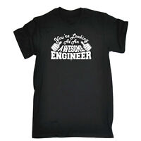 Funny Novelty T-Shirt Mens tee TShirt - Engineer Youre Looking At An Awesome