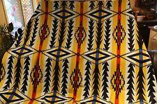 "Pendleton Wool Blanket 80"" x 64"" MIDNIGHT EYES Jacquard Robe Blanket"