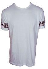 Brooklyn Haze T-shirt maglietta maglia uomo  bianca 100% Cotone Taglia L (Large)
