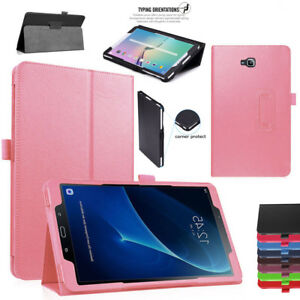 Leather Flip Stand Cover Case For Samsung Galaxy Tablet Tab A6 10.1 T580 T585
