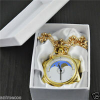Sailor Moon 20th Anniversary Necklace Pendant Chain Pocket Watch New in Box