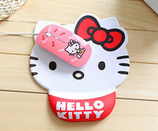 Cute Anti Slip Gel Mouse Mat Pad with Rest Wrist Support for Laptop PC Notebook