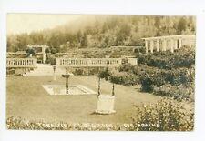 Terrasse RPPC Sainte Agathe des Monts QUEBEC Antique Delphis Cote Photo 1910s