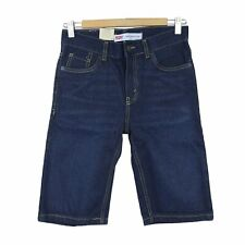 Levi's Boys 505 Regular Fit Denim Shorts, size 12REG 26W, Dark Blue, $42