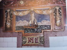 1979 South Ferry Subway Mosaic Art Tile New York City NYC Photo