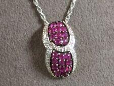 Ruby and Diamond pendant OG843