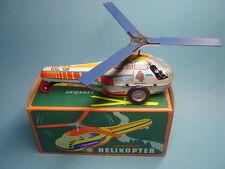Blechspielzeug HELICOPTER POLIZEI mit Friktionsantrieb, 90er Jahre,TOP