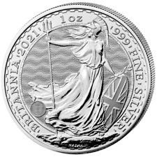 Britannia 2021 Silber 1 OZ Unze Silver Argent Großbritannien United Kingdom UK