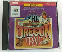 The Oregon Trail PC Mac 1994 CD-ROM Apple Macintosh & Windows 3.1 Version 1.2
