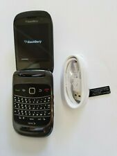 Rare Flip Blackberry 9670 CDMA Cell Phone For Sprint PCS Patriot Prepaid