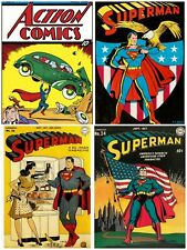vintage superman comics cover art  unofficial gildean t shirts take your pick