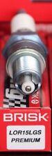 1X LOR15LGS Brisk Spark Plug LML Star Deluxe 2-Stroke 150 Makita FLG5000 PLM4814