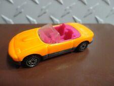 Loose Hot Wheels Orange Mazda Miata w/Screamin Wheels
