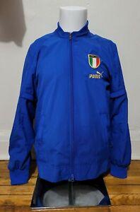 Puma S 2004-06 Italy Training Track Soccer Football Jacket