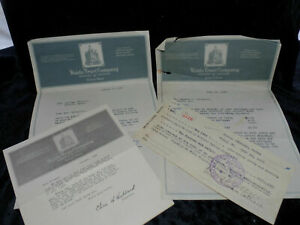 1925 Waldo County Trust Company Documents
