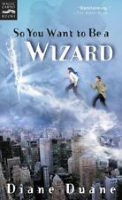 Young Wizards: So You Want to Be a Wizard Bk. 1 1 by Diane Duane 2001, Paperback