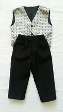 Baby Boy 2 Piece Suit,  Trouser and Waistcoat 12-18m