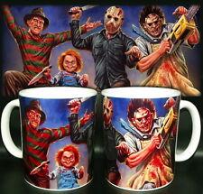tazza mug HORROR nightmare chucky chainsaw film scodella ceramica personalizzata