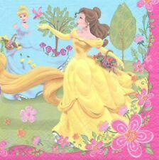 2 Serviettes en papier Princesses Decoupage Paper Napkins Princess Summer Palace