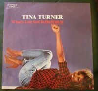 "Tina Turner What's love got to do with it (American mix) 12"" Single Limited Edit"