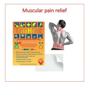 Uniheat self Adhesive Pain Relief 12 Hour Heat Packs