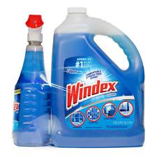 Windex Original Glass Cleaner With Ammonia-D 128 oz. Refill + 32 oz. Trigger