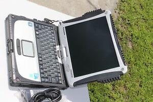 Panasonic Toughbook CF-19 MK4 i5 4GB,  TOUCHSCREEN , 128 SSD. WIN7 PRO 64BIT