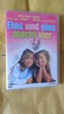 eins und eins macht vier dvd Rarität aus Sammlung Olsen Twins Zwillinge oop