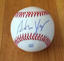 Andrew Yang Democrat Entrepreneur Autograph Signed Baseball 2020 President