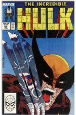 INCREDIBLE HULK #340 1st Hulk vs Wolverine Battle; VF/NM