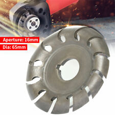 Electric Angle Grinder Shaping Blade Wood Carving Disc Cutting Wood work Tool US