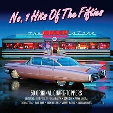 No. 1 Hits Of Fifties VARIOUS ARTISTS 50s Music BEST OF 50 SONGS New Sealed 2 CD