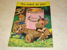Snack Jar Plan Cookbook National Peanut Council 1946