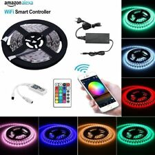 Wifi Led Streifen (RGB+Warmweiß) Lichtleiste LED Strip Stripes Lichterkette Set