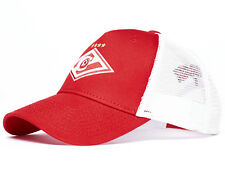 """FC Spartak Moscow """"Classic"""" trucker hat, Russian soccer, red/white"""