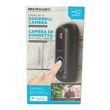 Merkury Innovations Smart Wi-fi Doorbell Camera Google Assistant Live View™