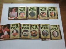 2019 Twin Peaks Archives Complete Scratch-n-Sniff Insert Set (Scratch and Sniff)