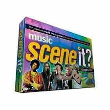 Scene It Music Edition (DVD / HD Video Game) new sealed