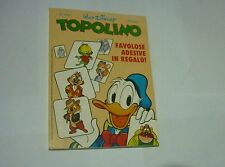 TOPOLINO  n 1792 ('90) FIGURINE PLASTIFICATE ADESIVE ALL'INTERNO