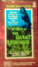 THE ATTACK OF THE GIANT LEECHES VHS VIDEO 1959 CLASSIC CULT MOVIE